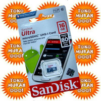 Memory Card Micro Sd SanDisk Ultra 16 Gb Class 10 Original / Ori 16gb
