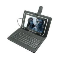 Universal Keyboard Case for Tablet 8 Inch Konektor Via Micro USB OTG