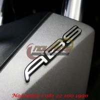 Logo Emblem 3D Timbul ABS Silver NMAX XMAX Aerox 155