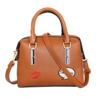 TAS KOREAN WANITA IMPOR BATAM JALAN YELLOW BROWN HANDBAGS MURAH