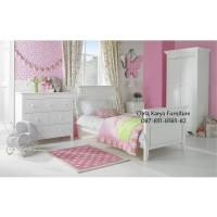 Jual Furniture Kamar Set Minimalis Tempat Tidur Anak Almari Pakaian Nakas Murah
