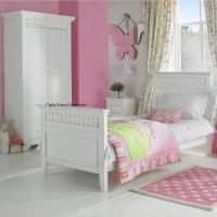 Jual Furniture Kamar Set Minimalis Tempat Tidur Anak Almari Pakaian Mahoni Murah