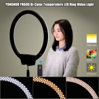Yongnuo YN608 ring led