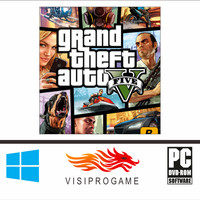 GTA V Full Version + Full Complete MOD Update All DLC Game Pc/laptop