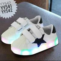 Sepatu Casual Anak dan LED Laki-Laki & Perempuan (Size 21-25)