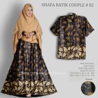 shafa batik couple gamis longdress dan hem