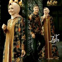 Jual baju muslim couple batik sarimbit zafir Murah