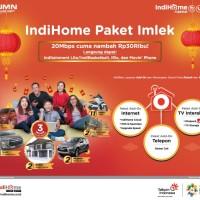 indihome internet unlimited dengan tv kabel bukan xl telkomsel im3 tri