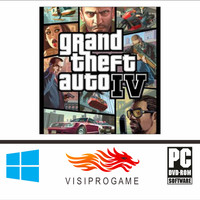 GTA IV + Update Complete Edition Game Pc/laptop