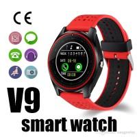 Jam Tangan Pintar Smartwatch Pria Wanita V9 2MP SIM Bluetooth Murah PJ