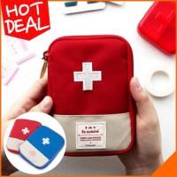 Tas Dompet Obat Pertolongan Pertama Mini Kit Traveling FIRTS AID PUNCH