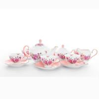 Tea set 17 PCS Capodimonte