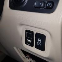 Car Charger Voltmeter USB 2.1A mobil Mitsubishi Xpander