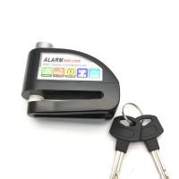 JUAL AKSESORIS MOTOR Kunci Disk Cakram Alarm Anti Maling Gembok Disc
