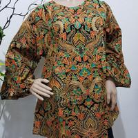Blouse Batik Klasik jogja / Kemeja batik wanita motif klasik