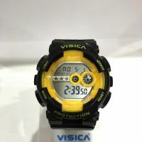 Promo!! Jam Tangan Digital Sporty Anti Air Model Casio Merk Visica