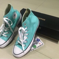 Sepatu Converse High CT Blue Light Aqua Original 100% Murah Cikarang d4e045b696