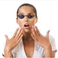 Kacamata pelindung/Protection Anti Laser/jemur/Ultraviolet/Eyecup