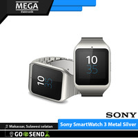 Smartwatch 3 Metal Silver Sony