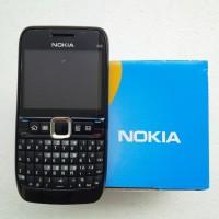 TERBARU Nokia E63 GSM QWERTY Black / Hitam