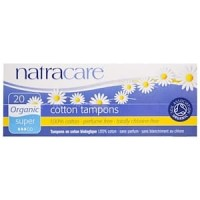 Natracare Organic Cotton Tampons Super 20 Tampons
