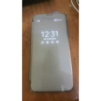 Samsung galaxy S7 edge second minud caseing belakang retak
