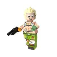 Lego Jamison Fawkes Minifigure PG1163 Bootleg