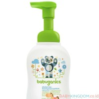 Babyganics Alcohol Free Foaming Hand Sanitizer Fragrance Free - 250 ml
