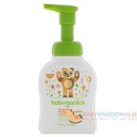 Babyganics Alcohol Free Foaming Hand Sanitizer Mandarin - 250 ml