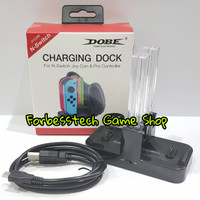 Jual DOBE Charging Dock for Nintendo Switch Joy Con & Pro Controller Murah