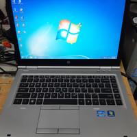 promo awal tahun laptop hp elitebook 8460p intel core i5 Windows 7