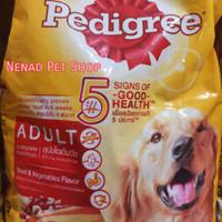 Makanan Anjing Dewasa Pedigree 1,5Kg/Makanan Kering Anjing Dewasa1,5Kg
