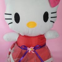Boneka Hello Kitty Gaun