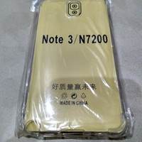 Samsung Note 3 N900 : Anti Crack Soft Case Softcase Ultra Clear Bening