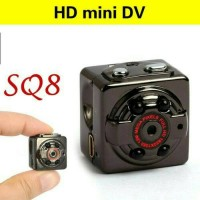 Jual Spy Camera Mini DV Voice SQ8 Kamera Pengintai Car DVR Hidden Camcorder Murah