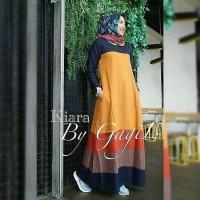 kiara dress muslim/ dress murah / gamis murah/ grosir baju hijab
