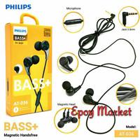Magnetic Headset PHILIPS AT-036 Ngebass nya Suara