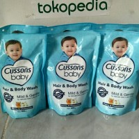 Cussons Baby Hair & Wash