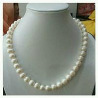 perhiasan kalung full mutiara tawar / mutiara lombok / mutiara asli