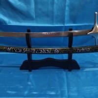 Pedang Arab Salahudin Al Ayubi Grafir Hijau