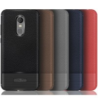 Leather Hard Soft Case Xiaomi Redmi 5 Plus Casing HP Kulit Armor Cover