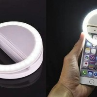 Lampu Selfie FlashLight LED Camera Handphone HP Lamp Ring Selfie Light