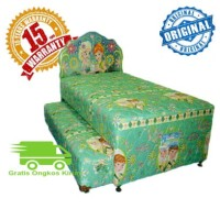 PROMO MURAH!! 2IN1 KASUR SPRING BED BIGDREAM BY BIGLAND FROZEN 120x200