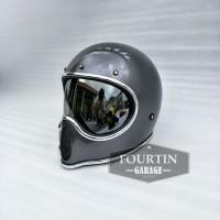 Helm Custom Classic BELL MOTO 3 PRO INNER VISOR Rertro Vintage Klasik