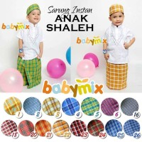 KHUSUS GROSIR Sarung Instan Anak Babymix - 12 Pcs+Packaging