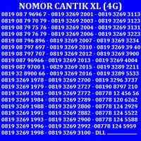 Jual Nomor Cantik XL Nomor Simpati Kartu Perdana Telkomsel XL Axis Indosat Murah