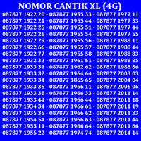 Jual Kartu Perdana Nomor Cantik No Telkomsel XL Indosat Simpati AS AXIS Murah
