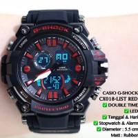 Jam tangan CASIO pria GSHOCK ferrari cowok tali rubber karet limited