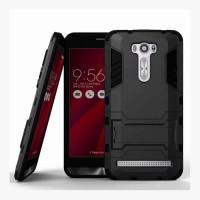Hard Soft Case Casing HP Asus Zenfone 2 Laser 5.5 Armor Stand Silikon