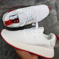 c66431634 Adidas NMD R2 white red    sepatu adidas premium    kado sepatu